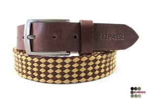 Pasek premium pleciony PPR17 ELPASSO